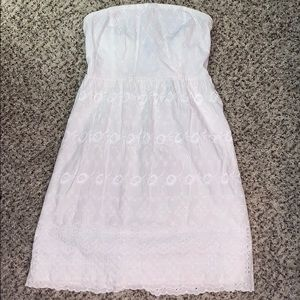 White dress worn once!